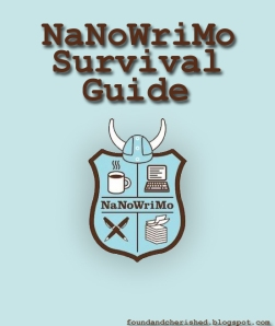 NaNoWriMo Survival Guide Real copy