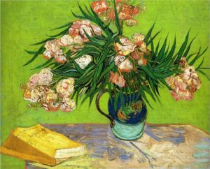 van gogh's olearnders and books