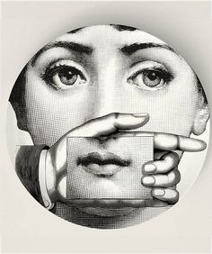 The Card Original Designs Inspired by Fornasetti by TheMadPlatters