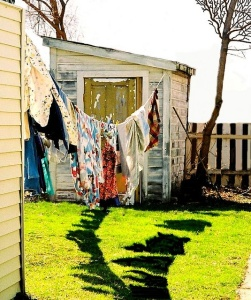 wash on the line by Zama Ree Do on Flickr